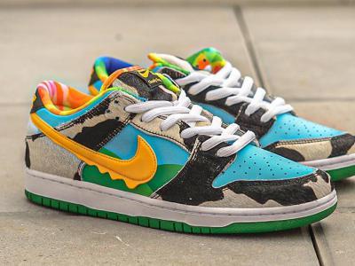 夏日限定口味:Nike SB 与冰激凌公司Ben & Jerry跨界联名之作!