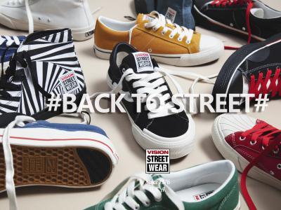 重回街头,Vision Street Wear经典复刻系列