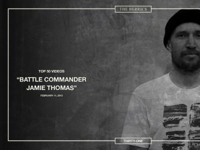 OG转场,酋长Jamie Thomas 化身将军掌控Berrics板场