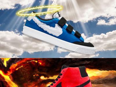 Nike SB x Kevin Bradley最新联名,选择天堂还是地狱?