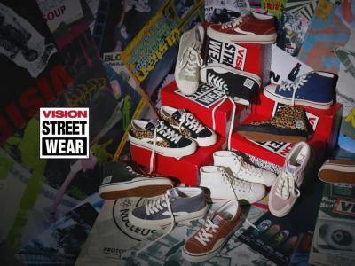 #没事就ZAO# Vision Street Wear 2020 FW 鞋款现已发售