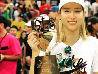 【盘问】获得SLS总决赛冠军,日本街式最强女滑手西村碧莉