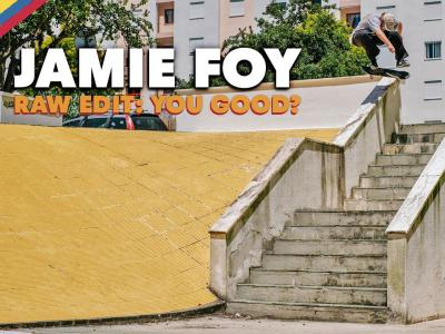 奥地利红牛出品:Jamie Foy 影片「YOU GOOD」生素材剪辑