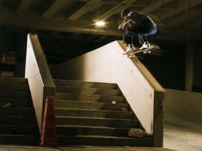 Gilbert Crocket在Vans滑板大片「Alright, OK」生素材剪辑