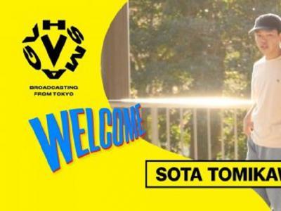 日本新世代滑手SOTA TOMIKAWA入队EAZY M!SS!