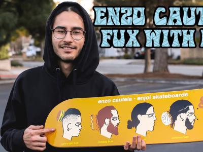 眼镜小哥Enzo Cautela最新十九分钟个人片段发布
