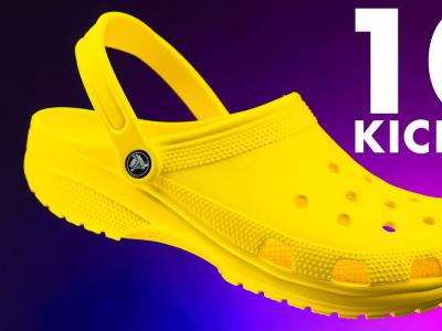 用Crocs(鳄鱼牌拖鞋),做101个尖翻!