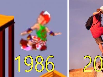 【滑板黑历史】1986-2020年滑板游戏的变迁!