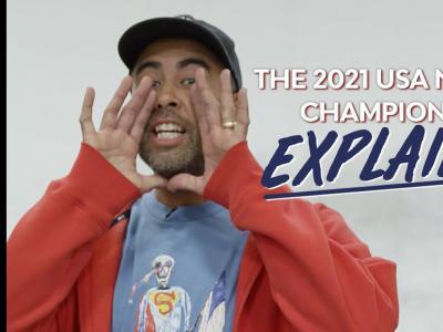 关于美国2021全国滑板锦标赛讲解