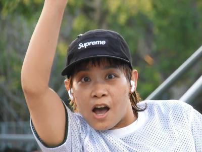 【WHATSUP Best Trick】#73 BK硬核女滑手孙秋:Nollie Smith Grind